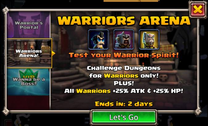 Warrior's Arena