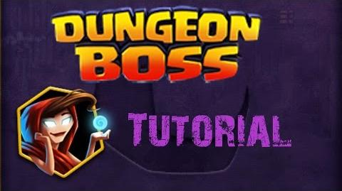 Dungeon Boss - Tutorial