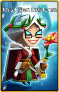 Mrs Claus Icebloom skin