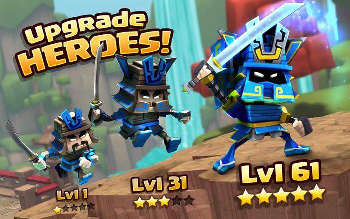 Upgrade Heroes