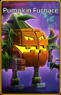 Pumpkin Furnace skin
