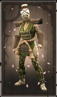 Guard of the sacred leaf
