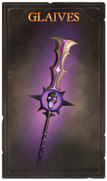 Items cards catweap glaive