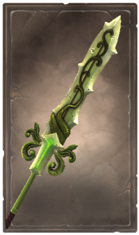 Overgrowth glaive