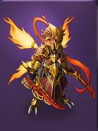 Caligo the Dual Swordsman detailed
