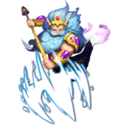 Triton the King of Water Elemental detailed