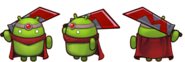 Android Bot sprites