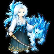 Aoyuki the Blade Master detailed
