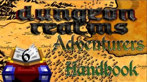 Dungeon Realms Adventurers Handbook - Lesson 6 - The Mining Profession