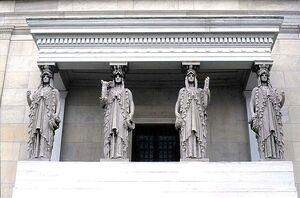 Caryatids by St. Gaudens