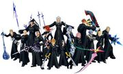 Photo-of-Kingdom-Hearts-358-2-Days-Organization-XIII-Members-with-their-Weapons