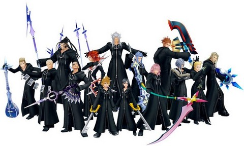 File:Photo-of-Kingdom-Hearts-358-2-Days-Organization-XIII-Members-with-their-Weapons.jpg