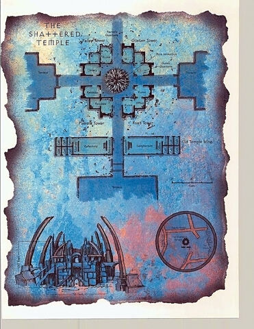 File:Shattered Temple Map by Diesel and Dana Knutson-2611 (1995-06) TSR AD&D 2ed Planescape - The Factol-s Manifesto.jpg