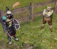 Guard Captain and Elias the Butcher