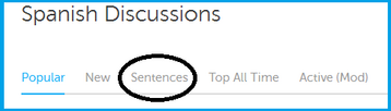 DL Sentence Discussion in forum eng