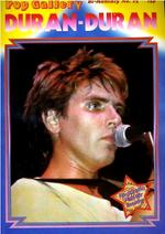 Duran duran pop gallery magazine 1
