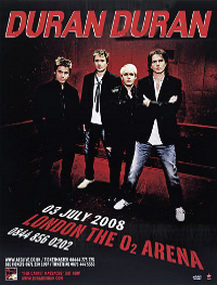 Poster DURAN DURAN LONDON 02 ARENA