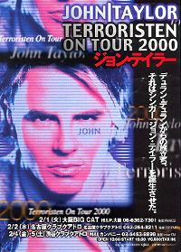Jt2000 flyer1 john taylor