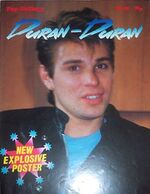 Pop Gallery 1980s Poster Magazine No 10 RARE Inc. JOHN TAYLOR poster duran duran wikipedia