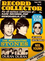 Record collector september 1982 no 37 duran duran