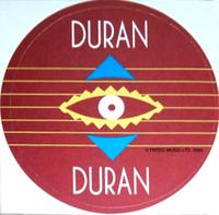 4 inch sticker duran duran by tritec music