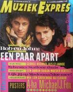 Muziek Expres netherlands magazine wikipedia holland 4 april 1986 duran duran tanja van der laan