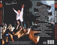 1 Recorded live at Marymoor Amphitheatre, Redmond, WA, USA, July 5th, 2009. duran duran wikipedia