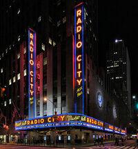 Radio City Music Hall in New York wikipedia duran duran