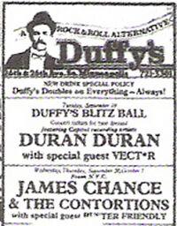 Duffy's Minneapolis 26th Avenue South and East 26th Street, Minneapolis, Minnesota wikipedia duran duran