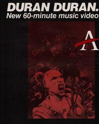 Arena advert wikipedia video duran duran album 2