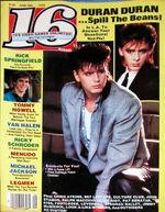 16 magazine duran duran discogs duranduran.com music