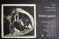 My own way advert faster than light tour uk duran duran wikipedia 1981 song single