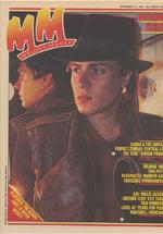 Melody maker 13 november 1982 duran duran simon le bon
