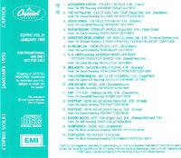 CDPRO VOL NO 1 JANUARY 1993 CAPITOL RECORDS DURAN DURAN