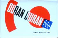 Duran duran licence holder tritec duran birmingham 1984
