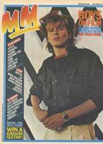 MELODY MAKER MAGAZINE - MARCH 26 1983 duran duran