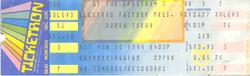 Ticket 10 march 1984 duran duran