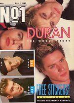 No.1 magazine duran duran discogs discography wikipedia duranduran.com music