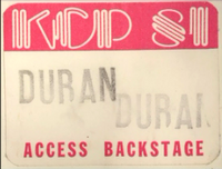Duran duran 1981 pass