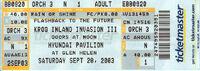 KROQ Inland Invasion wikipedia duran duran ticket