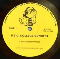 Duran duran bbc college concert record