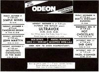 Hazel o'connor odeon theatre edinburgh uk with duran duran