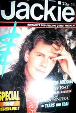 Jackie magazine SEPT 30 '85. JOHN TAYLOR DURAN DURAN wikipedia