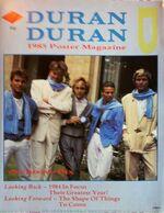 Duran duran 1985 poster magazine wikipedia aston villa scarfs mencap show villa park birmingham