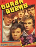 1983 Duran Duran A4 Special Collectors Magazine No2