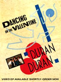 Duran duran dancing poster 1982