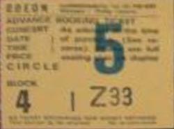 Rio ticket stub duran duran wikipedia