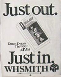 Duran duran advert duran uk wh smith
