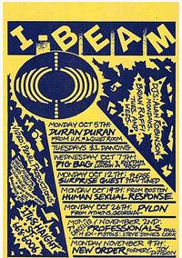 I-beam san francisco wikipedia duran duran quiet room poster 1981