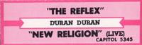 The reflex jukebox title slip duran duran